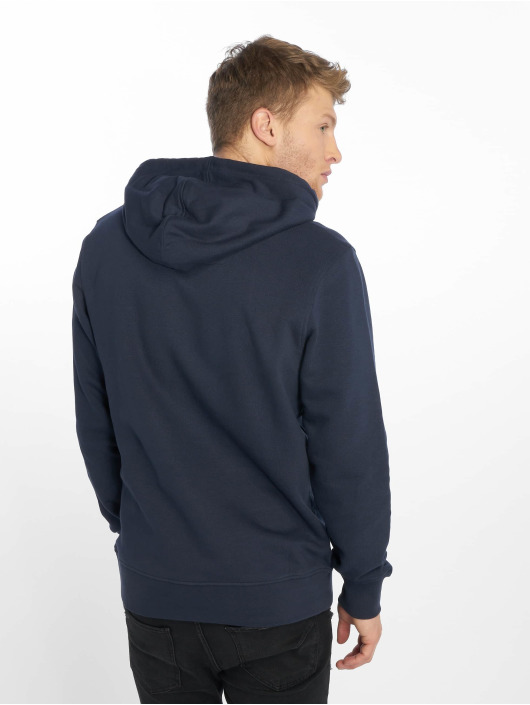 Jack & Jones Bluzy z kapturem jcoLogan niebieski