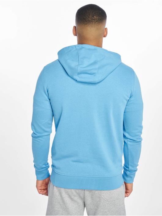 Jack & Jones Bluzy z kapturem jcoAxel niebieski