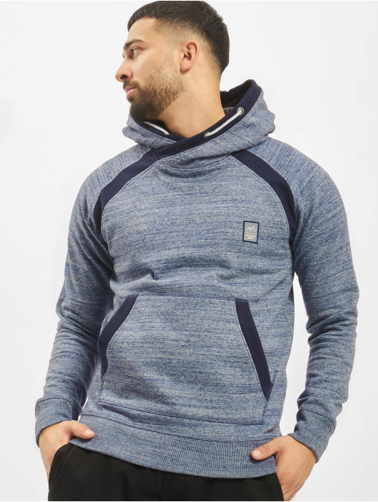 Jack & Jones Bluzy z kapturem jorChris Cross Over niebieski