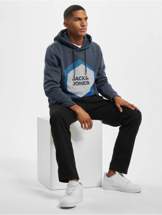 Jack & Jones Bluzy z kapturem jcoCool niebieski