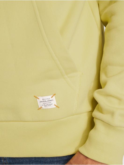 Jack & Jones Bluzy z kapturem Jorbasti zielony