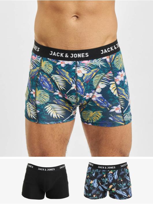 Jack & Jones Bokserki jacSummer 3 Pack czarny