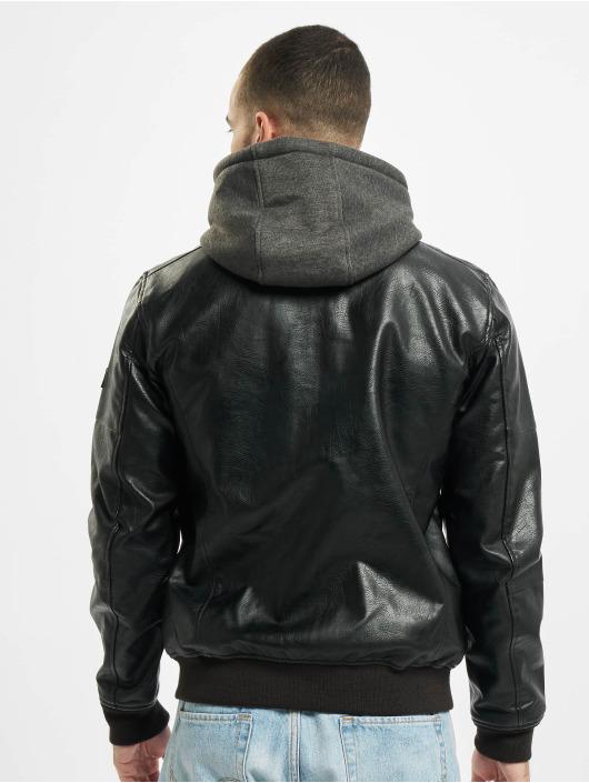 Jack & Jones Bomber jacket jcoStefan Pu black