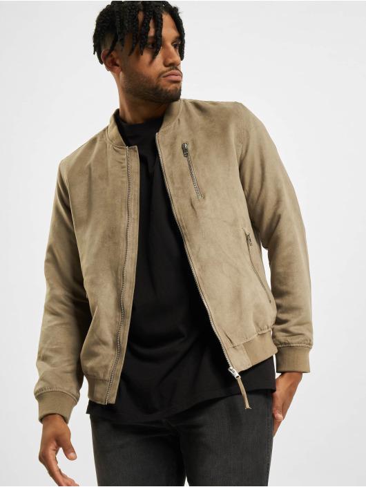 Jack & Jones Bomber jacket jjFlake brown