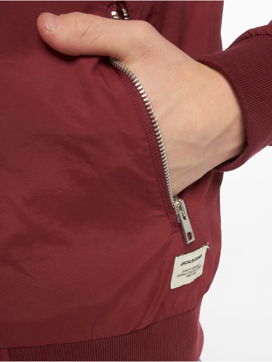 Jack & Jones Bomber jacket jjePacific red