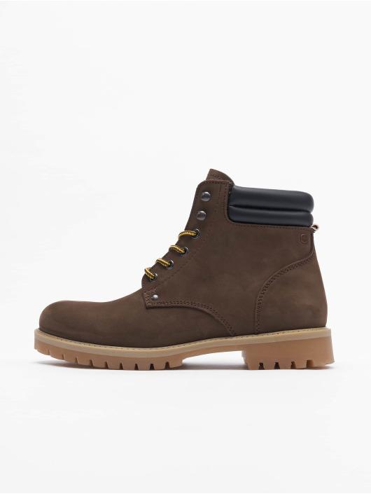 Jack & Jones Boots Jfwstoke Nubuck braun