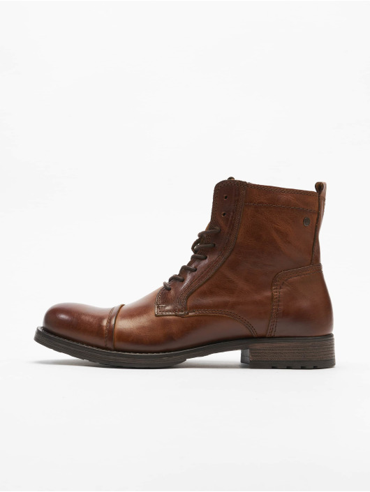 Jack & Jones Boots jfwRussel Leather Warm brown
