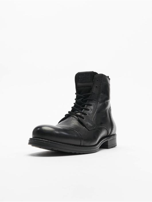 Jack & Jones Boots fwRussel Leather Warm grau