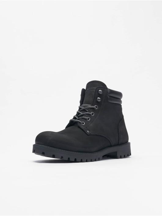 Jack & Jones Boots Jfwstoke Nubuck grigio