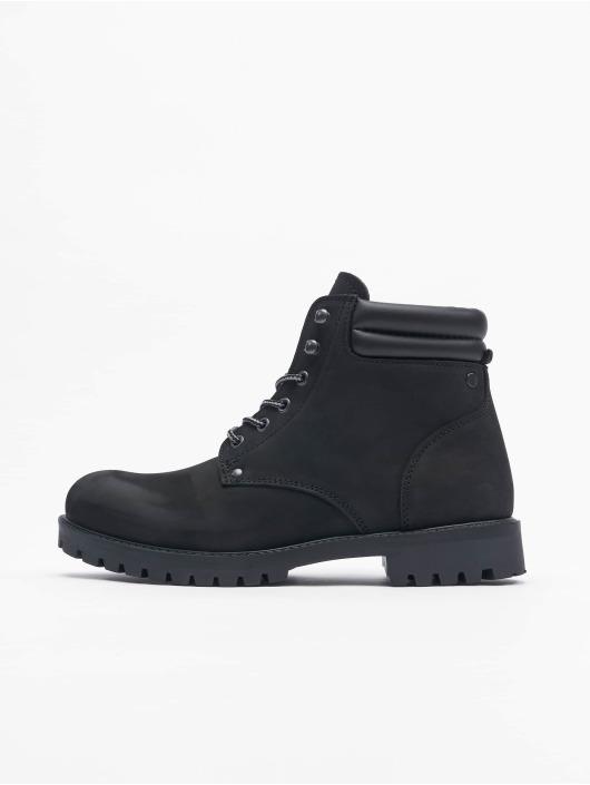 Jack & Jones Boots Jfwstoke Nubuck gris