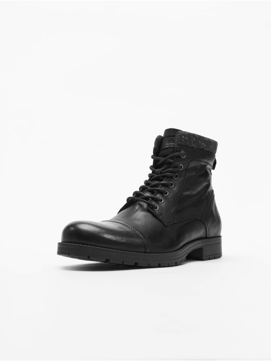 Boots Jones Jackamp; Leather Black Jfwmarly ED29YIHW