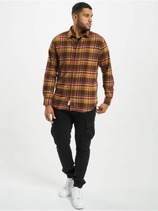 Jack & Jones Camicia jprBlujamie One Pocket marrone
