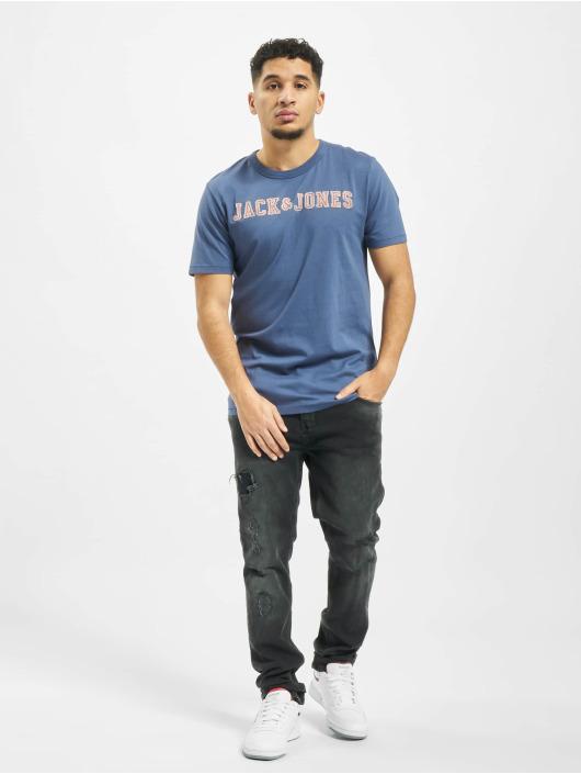 Jack & Jones Camiseta jprLlogo azul