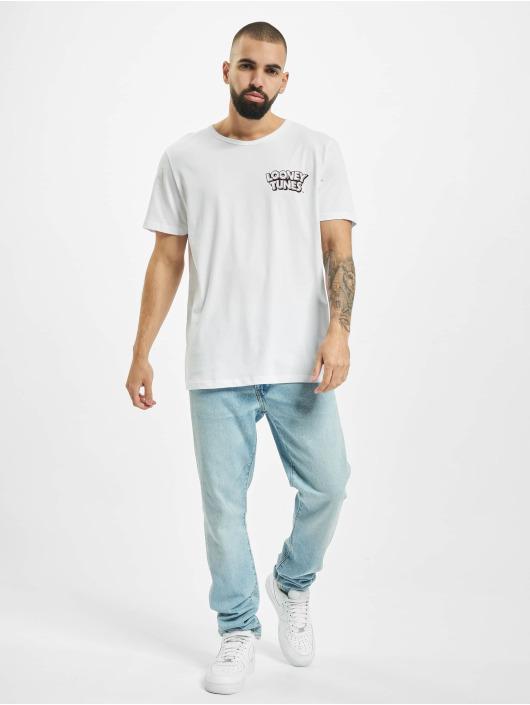 Jack & Jones Camiseta jcoLooney blanco