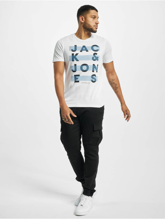 Jack & Jones Camiseta jcoJumbo blanco