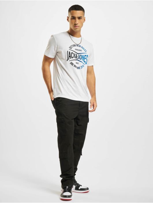 Jack & Jones Camiseta JjNick blanco