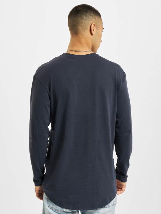 Jack & Jones Camiseta de manga larga Jjenoa O-Neck azul