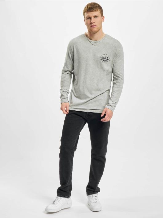 Jack & Jones Camiseta de manga larga Jjkimbel gris