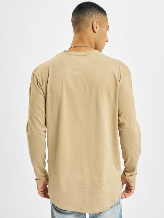 Jack & Jones Camiseta de manga larga Jjenoa O-Neck marrón