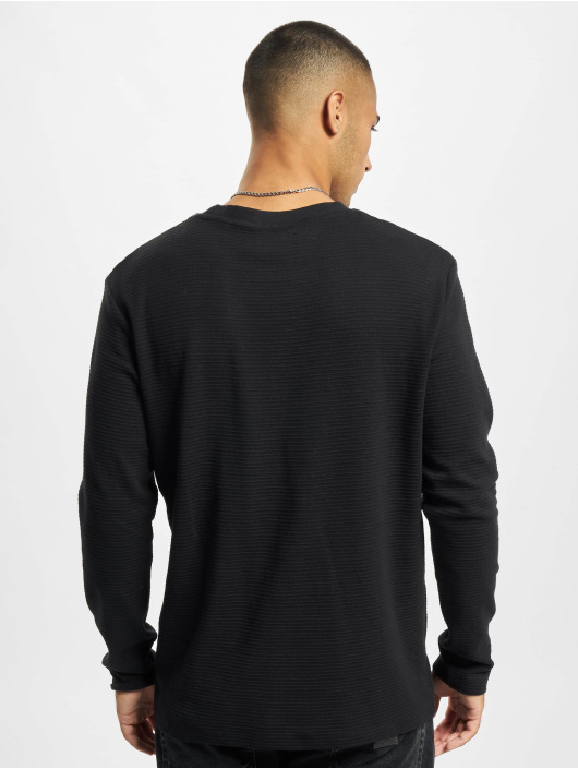 Jack & Jones Camiseta de manga larga Jjephil negro