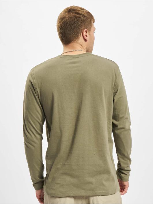 Jack & Jones Camiseta de manga larga Jjkimbel oliva