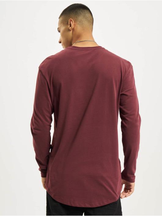 Jack & Jones Camiseta de manga larga Jjenoa O-Neck rojo