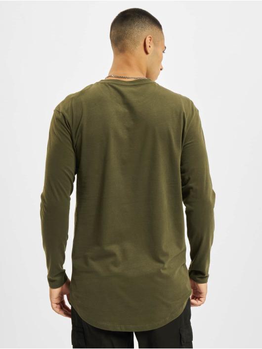 Jack & Jones Camiseta de manga larga Jjenoa O-Neck verde