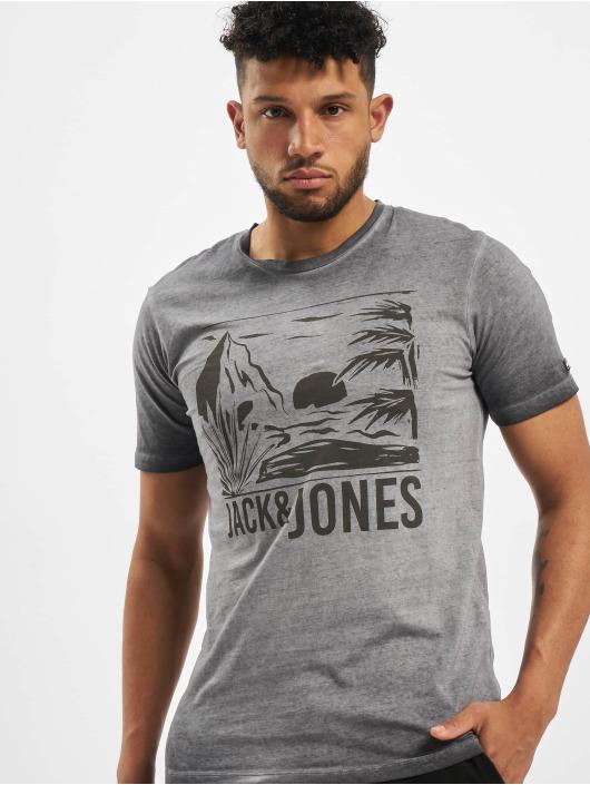 Jack & Jones Camiseta jorAbre gris