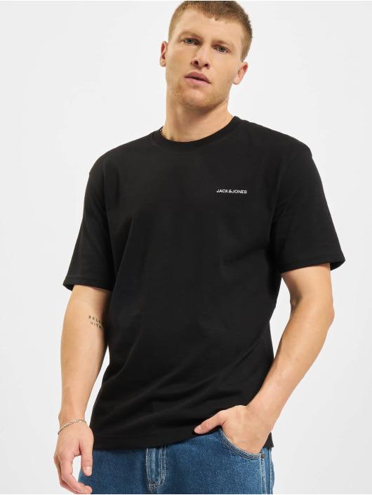 Jack & Jones Camiseta Jjerelaxed Corp EMB O-Neck negro