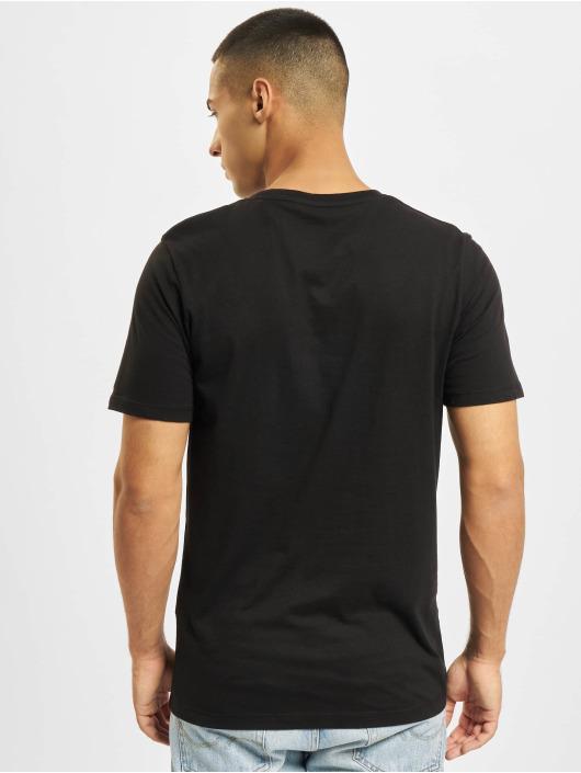 Jack & Jones Camiseta Jjejeans negro