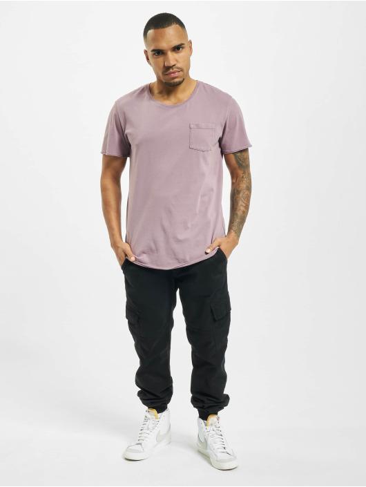 Jack & Jones Camiseta jorZack púrpura