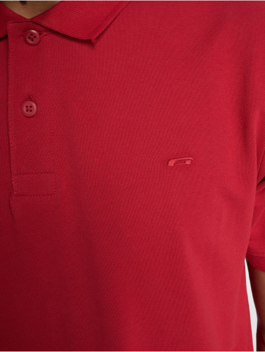 Jack & Jones Camiseta polo jjeBasic rojo