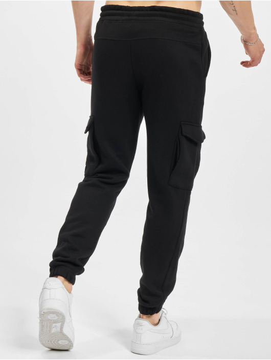 Jack & Jones Cargo pants Jjigordon Jjclassic čern