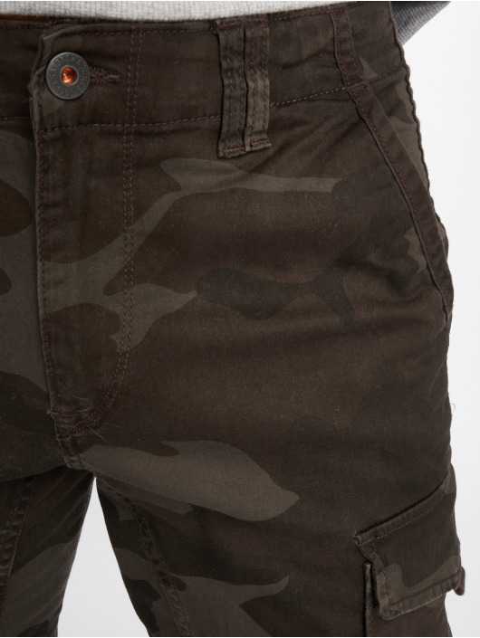 Jack & Jones Cargo pants JjIpaul JjFlake AKM 559 STS kamufláž