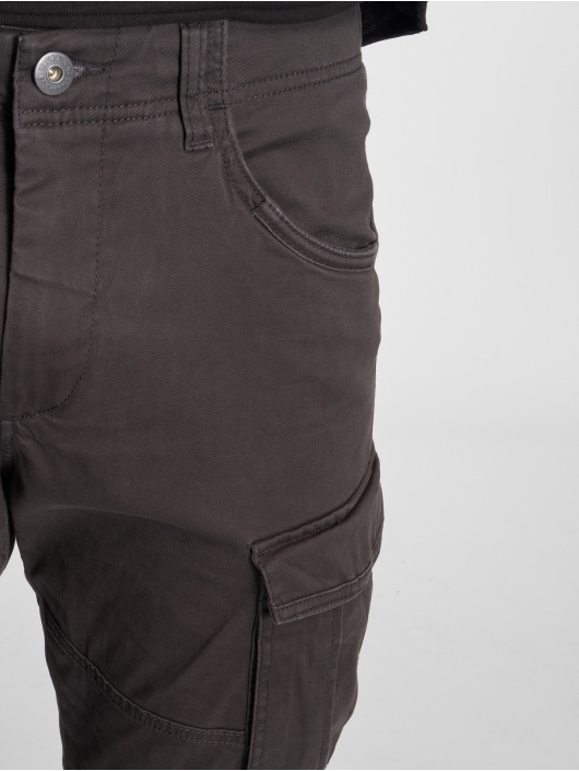Jack & Jones Jjidrake Jjchop Akm 574 Black Noos Cargo Pants Black