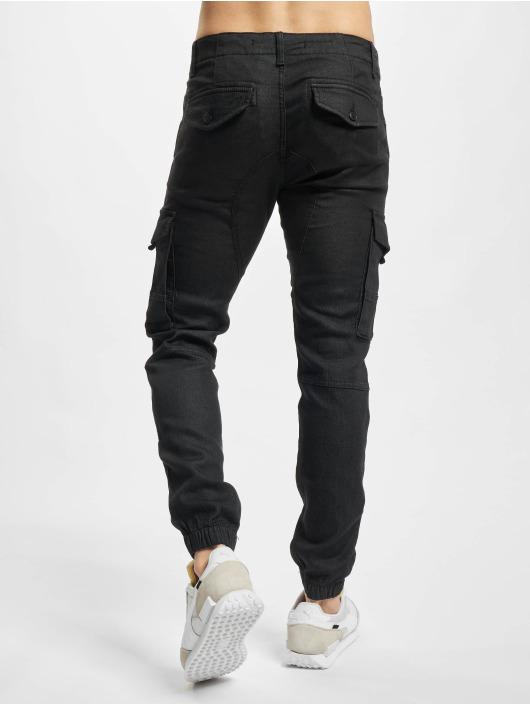 Jack & Jones Chino bukser Jjipaul Jjflake svart