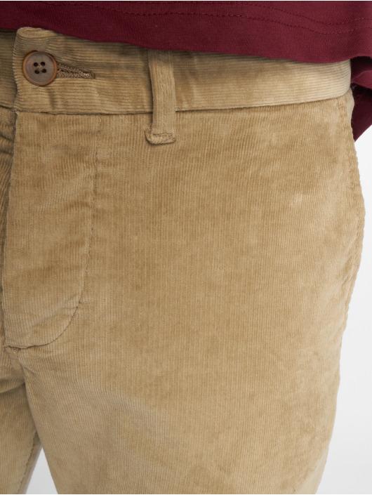 Jack & Jones Chino pants Jjimarco Jjcorduroy Akm 594 Aluminum Ltd beige