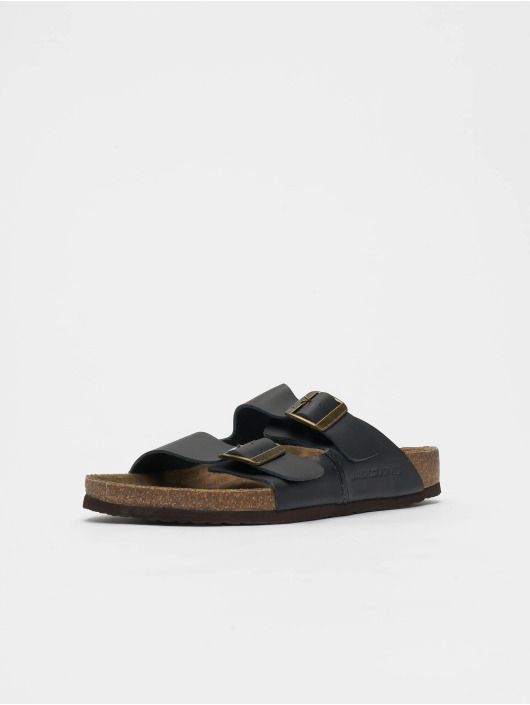 Jack & Jones Claquettes & Sandales jfwCroxton Leather noir