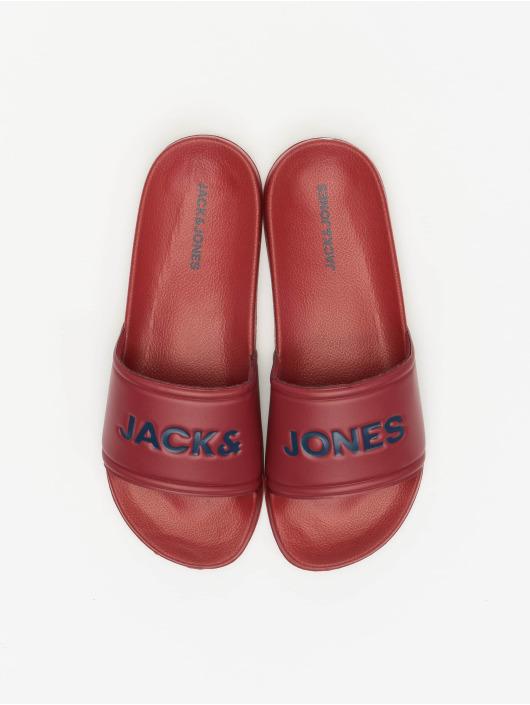 Jack & Jones Claquettes & Sandales JFW Larry Pool rouge