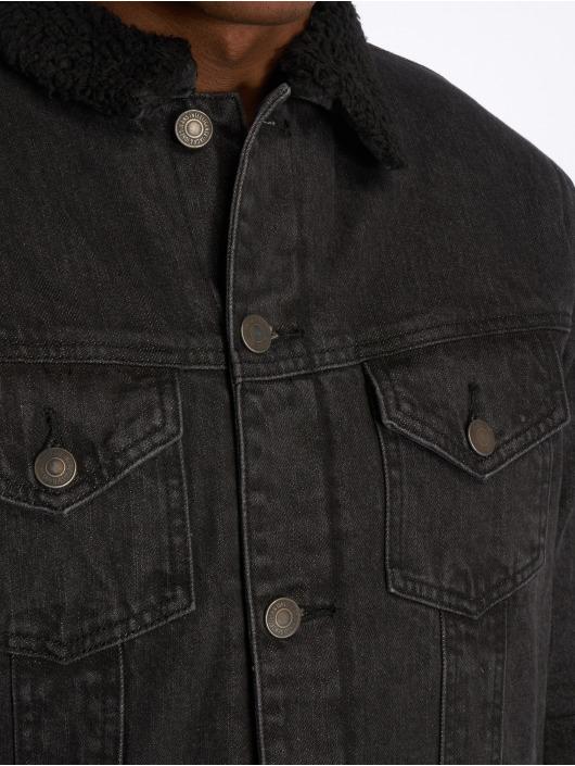 Jack & Jones Denim Jacket jjiEdward black