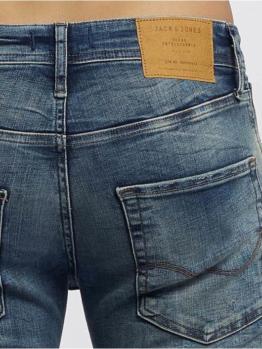 Jack & Jones dżinsy przylegające Glenn Original JOS 788 niebieski