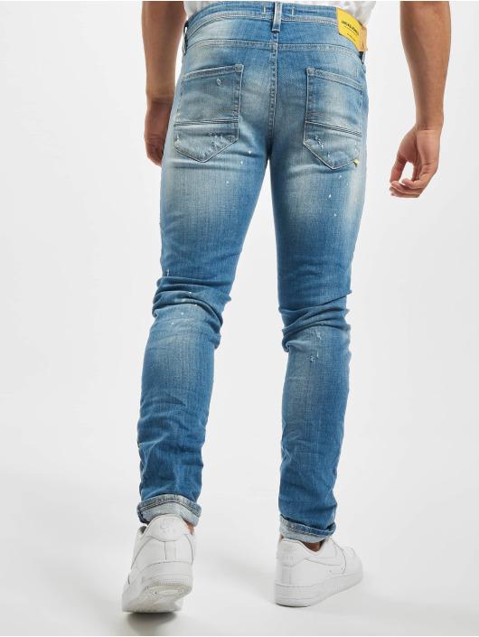 Jack & Jones dżinsy przylegające jjiGlenn Jjfox niebieski