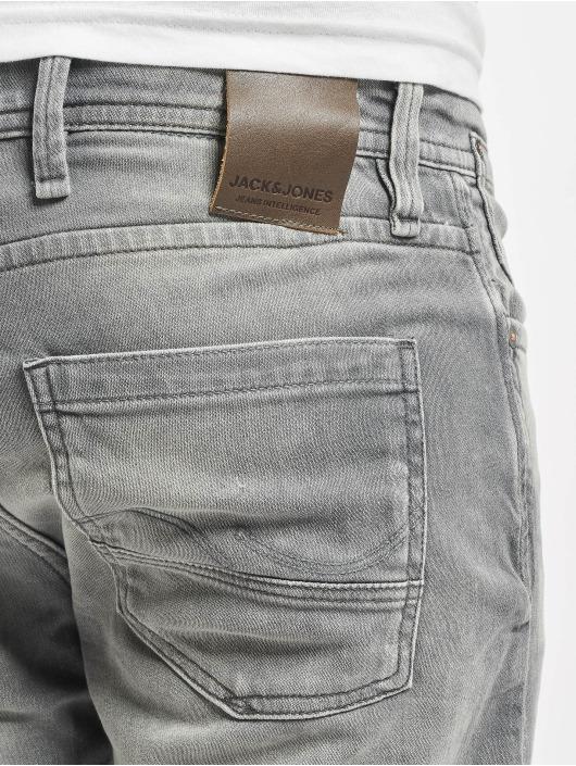 Jack & Jones dżinsy przylegające jjiTim jjLeon GE 067 szary