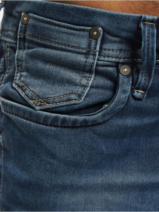 Jack & Jones Dżinsy straight fit jjTim jjLeon GE 382 niebieski