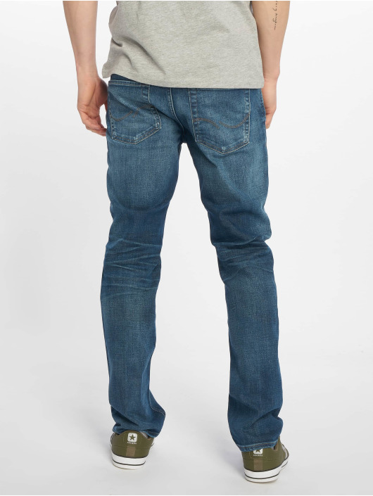 Jack & Jones Dżinsy straight fit jjiClark jjOriginal niebieski
