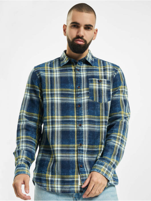 Jack & Jones Hemd jorHans Shirt blau