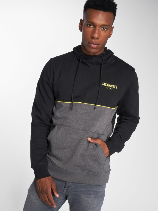 Jack & Jones Hoodie jcoPiping Sweat black