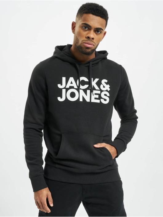 Jack & Jones Hoodie jjeCorp Logo Noos black