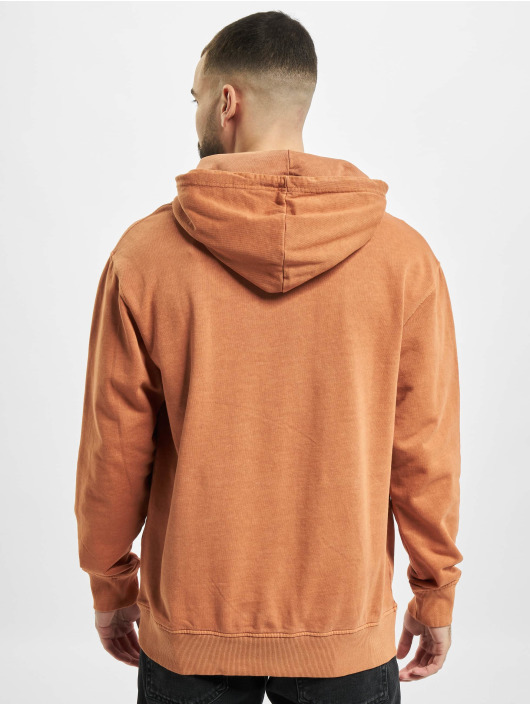 Jack & Jones Hoodie jjeWashed Noos brown