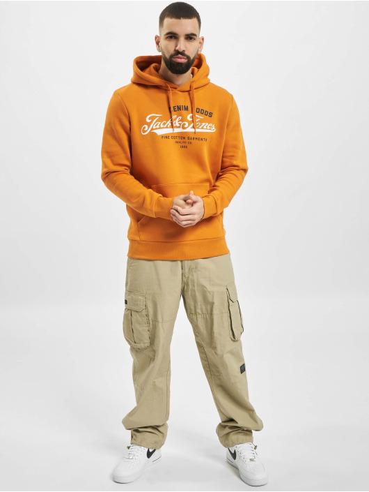 Jack & Jones Hoodie jjeLogo orange